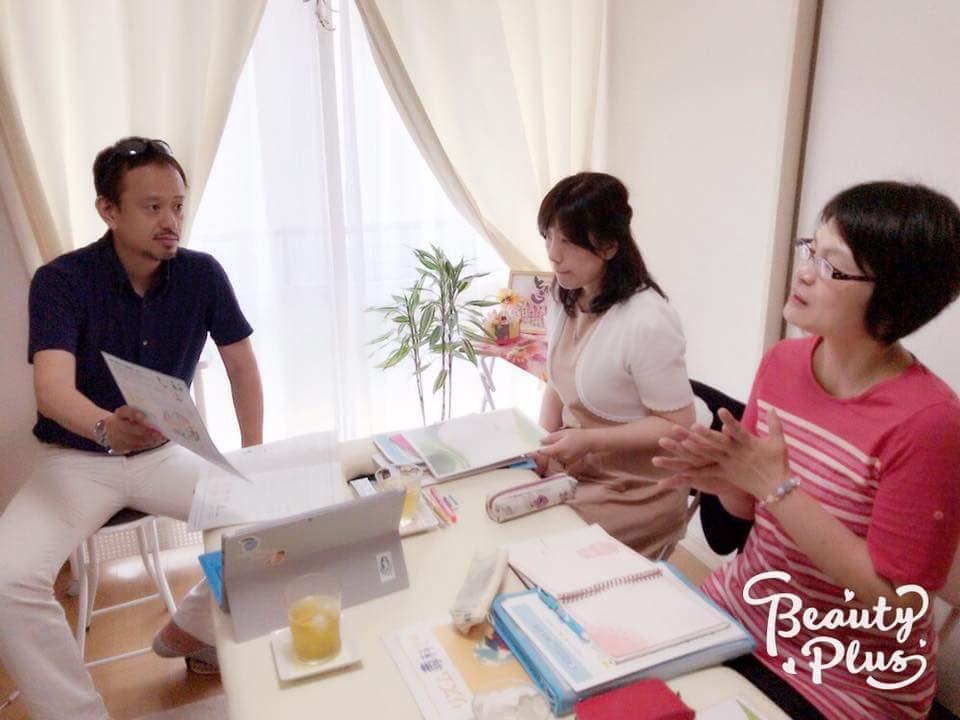 時川佳巳マスターインストラクターの素敵なサロンのお部屋にてリズム専科を開催しました!