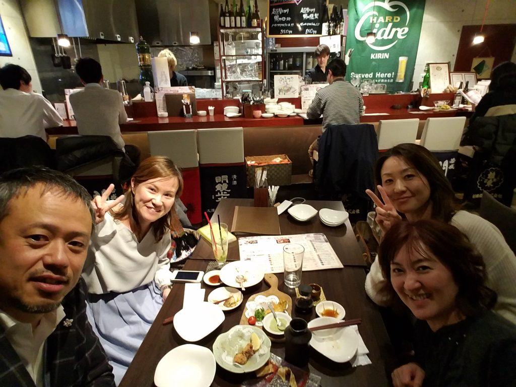 栃木県小山市にてISD個性心理学の勉強会。終わってからの懇親会!