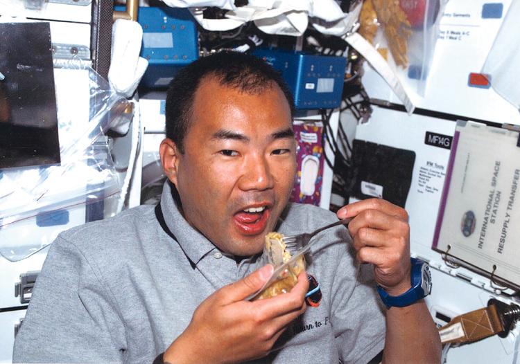日清食品の宇宙食8「スペース・ラム」